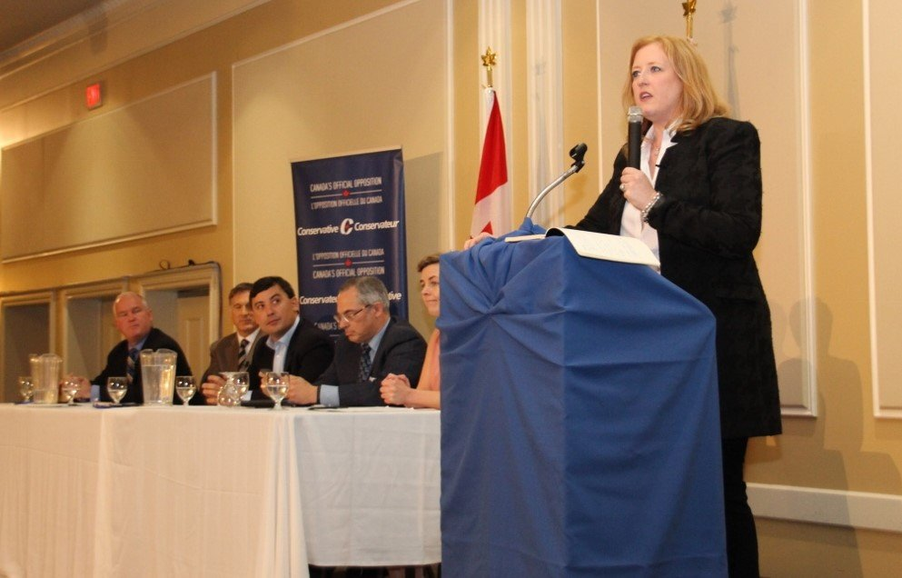 Conservative leader hopefuls gather in Markham
