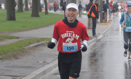 Markham man runs his 150th marathon