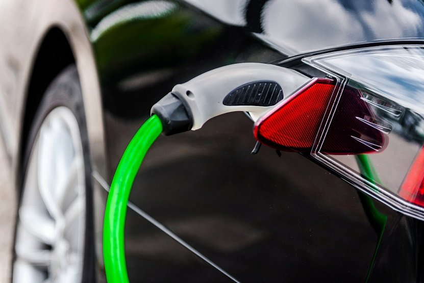 Electric vehicles getting charged up