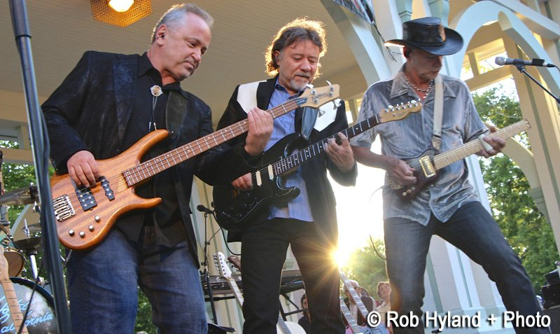 Thursday Nights at the Bandstand gets hotter in August