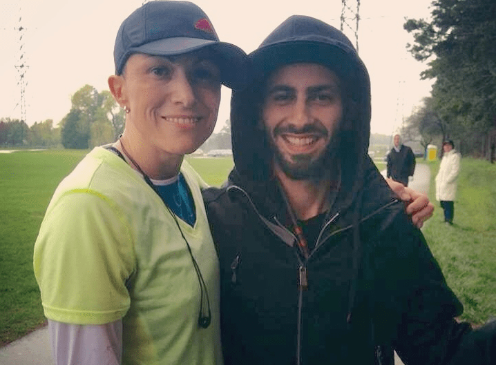 Local woman runs 500 km for friend