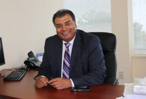 Hard work got Bob Saroya elected. So he's not about to stop now.
