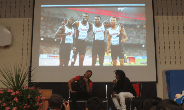 My interview with Andre De Grasse