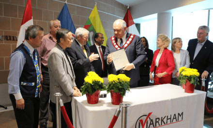 The City of Markham and Eabametoong First Nation make history