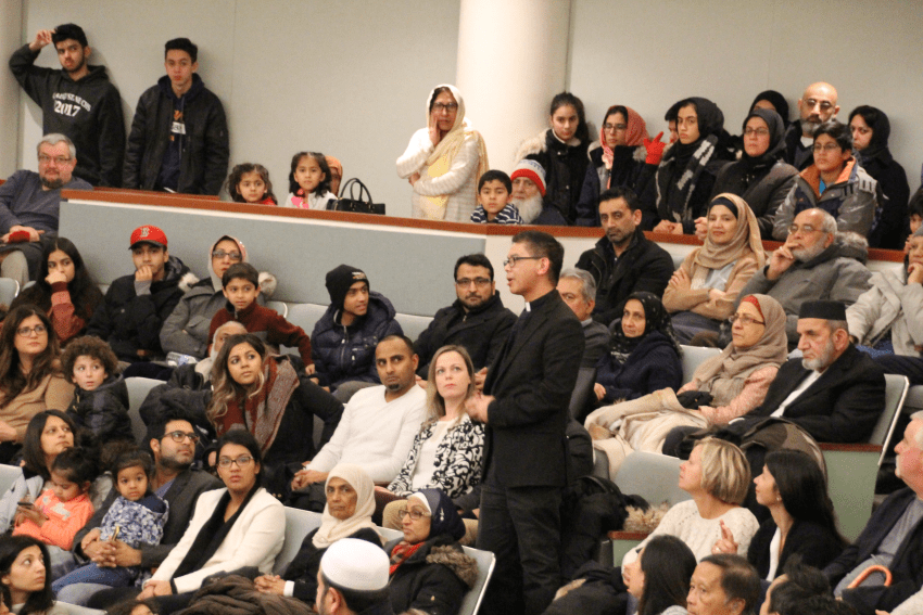 Markham holds vigil for Quebec mosque attack victims