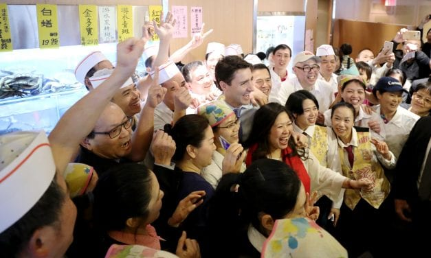 Trudeau Makes Special Stop in Markham to Support Liberal Candidate