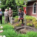 MP Philpott Plants a Tree for Canada 150