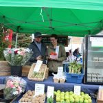 Grab fresh food and good times at the local farmers' market