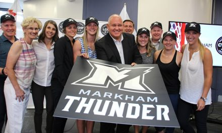 Markham Thunder forecast calls for some great women's hockey