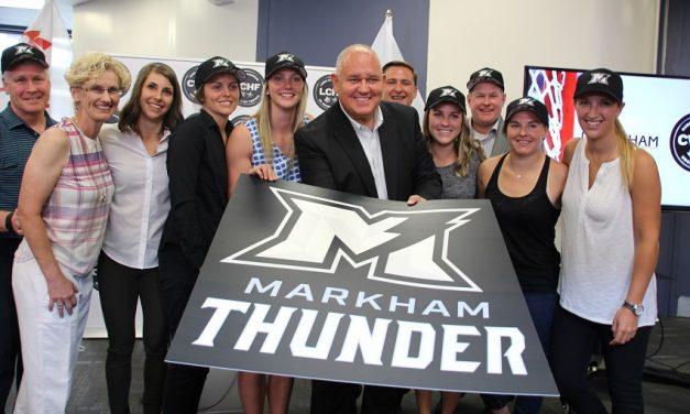 Markham Thunder forecast calls for some great women's hockey