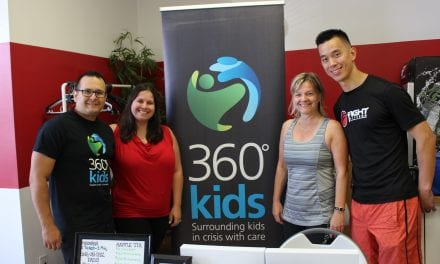 Fighting fit at fundraiser for at risk youth
