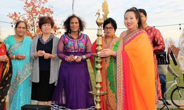 Amanda Yeung Collucci hosts Diwali celebration