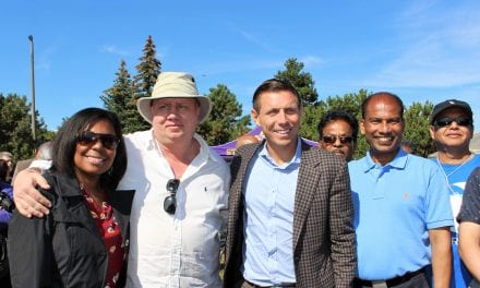 Patrick Brown shows support for Logan Kanapathi