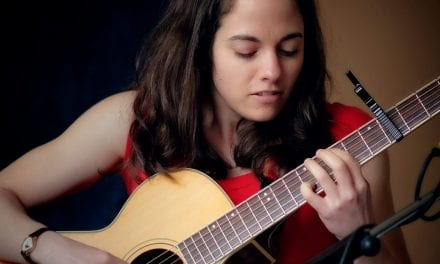 Shawna Caspi performs at The Living Room