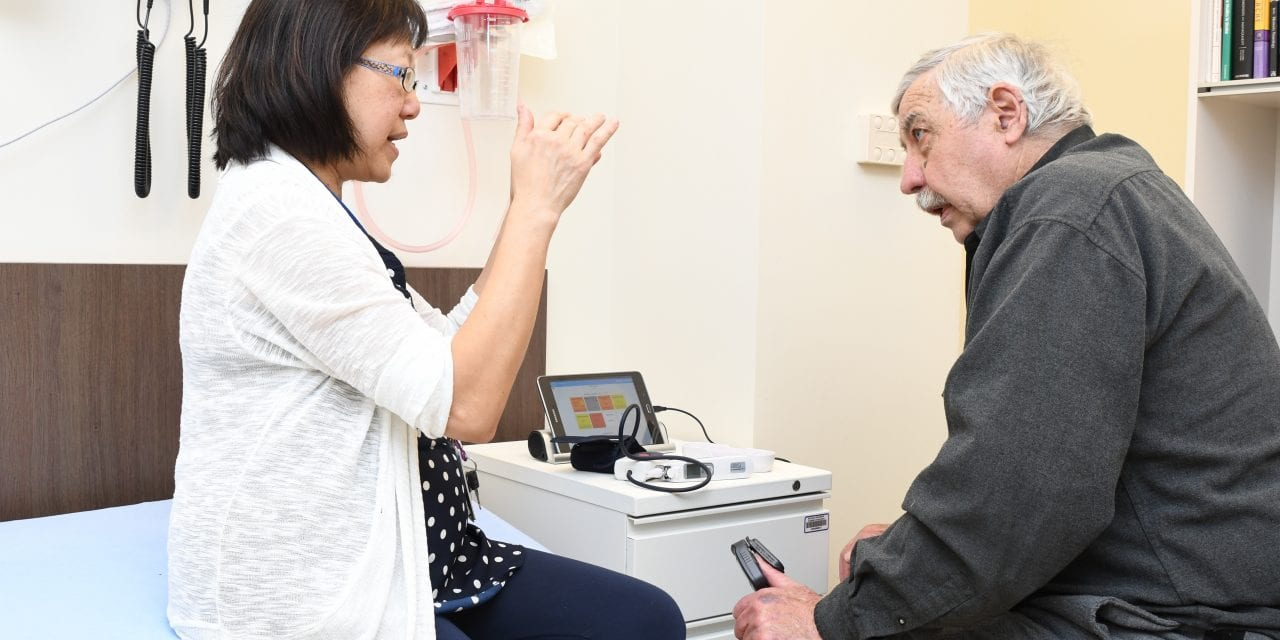 COPD patients can monitor their symptoms at home