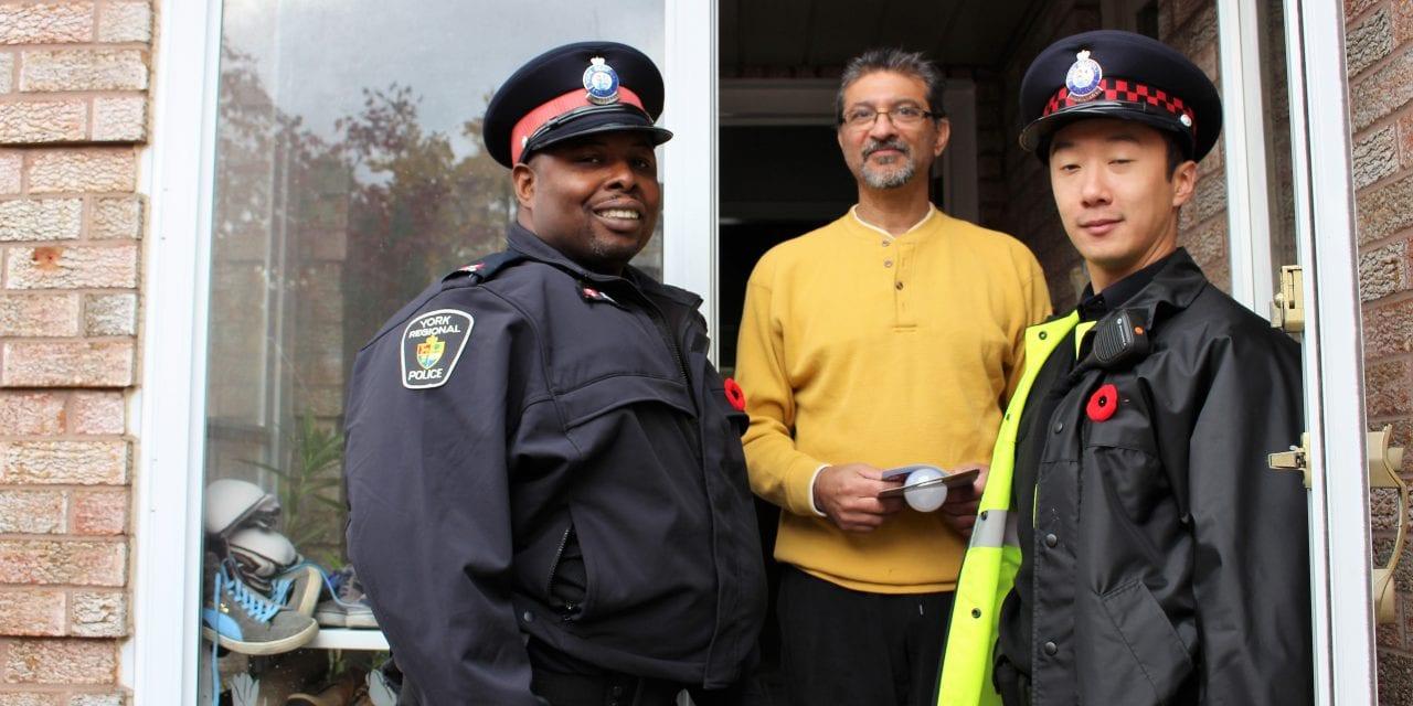 Police launch lighting program to prevent crime