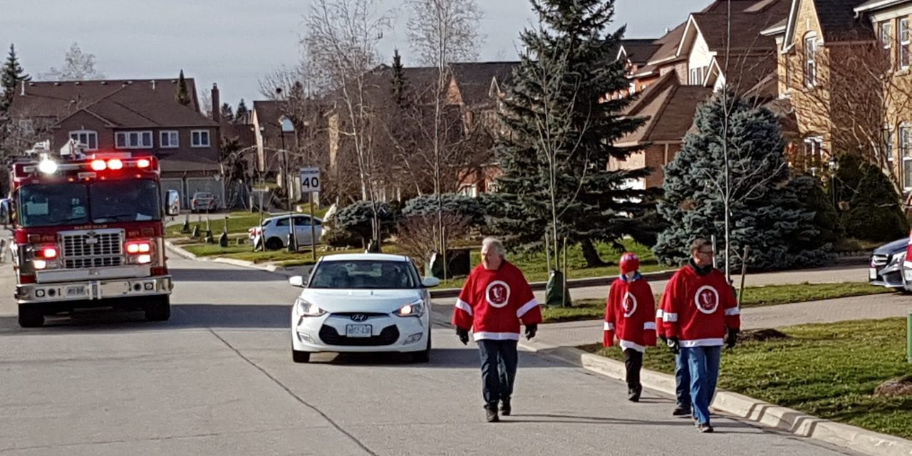Hockey With Heart full of holiday spirit
