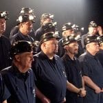 Men of the Deeps sing about Cape Breton-style Christmas