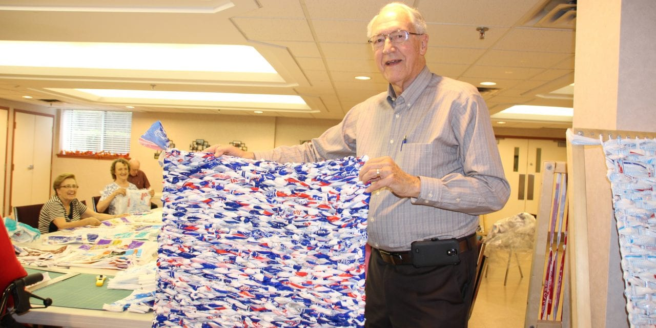 From milk bags to mats to Zambia