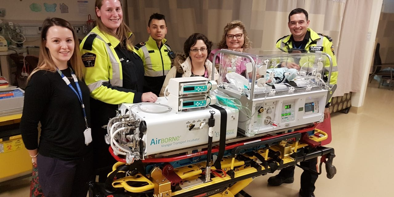 New technology connecting babies to specialized care