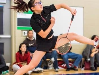 Badminton not just a backyard game