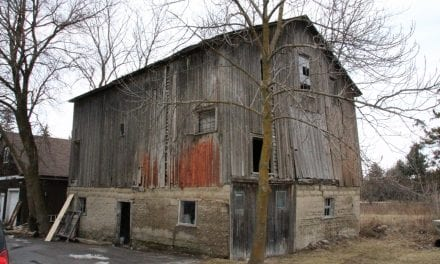 Old barn housed an early Masonic lodge