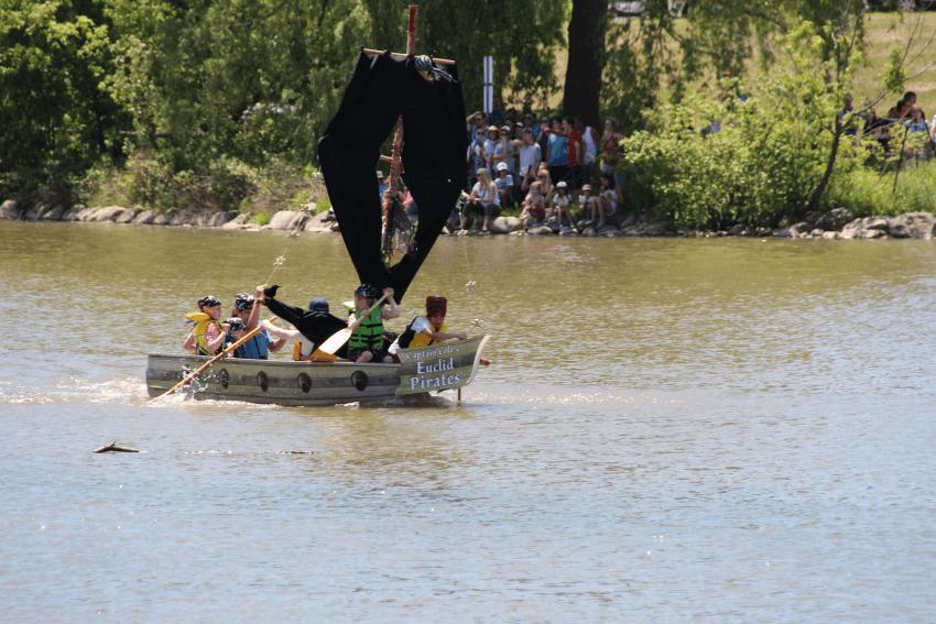 Krazy Kraft race at Toogood Pond