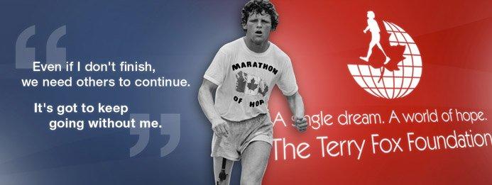 Join community's Terry Fox Run Sept 18