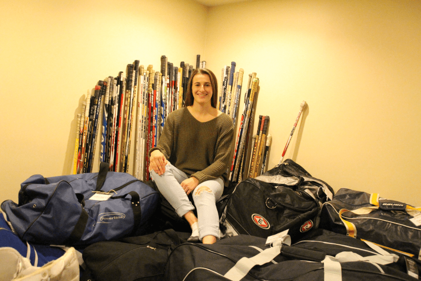 Locals help equip First Nation kids