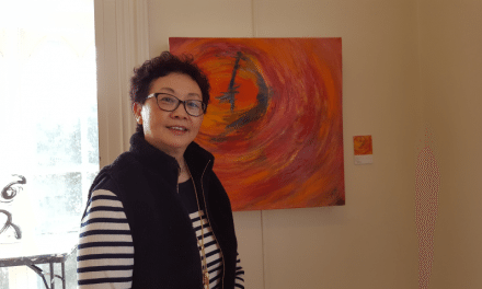 Exhibition of paintings by Irene Hung