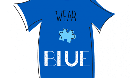 Wear blue to show support for autism