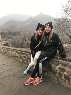Sisters bring a touch of the Irish to China