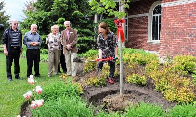 MP Philpott Plants a Tree for Canada 150