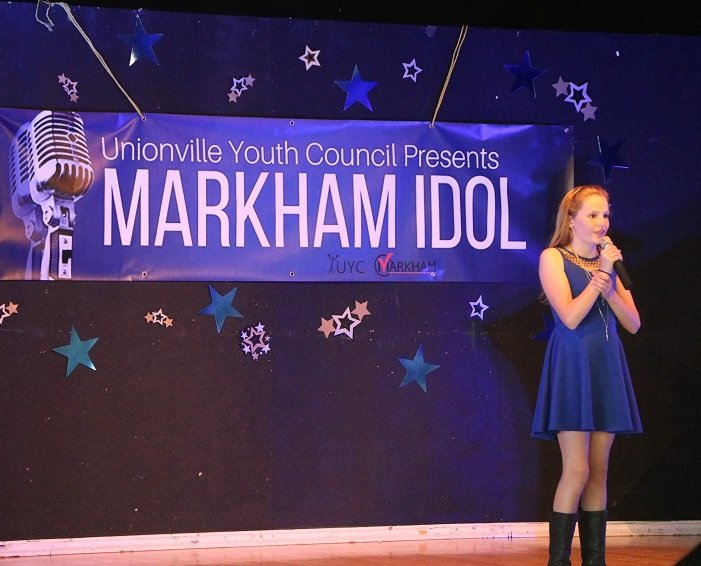 Markham Idol shows off young talent