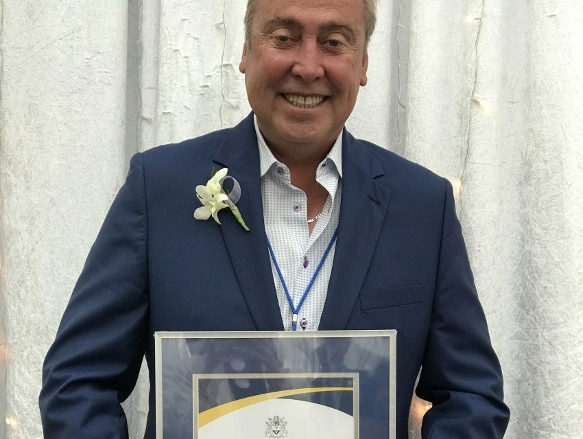 O'Hanlon recognized for his generosity and contributions