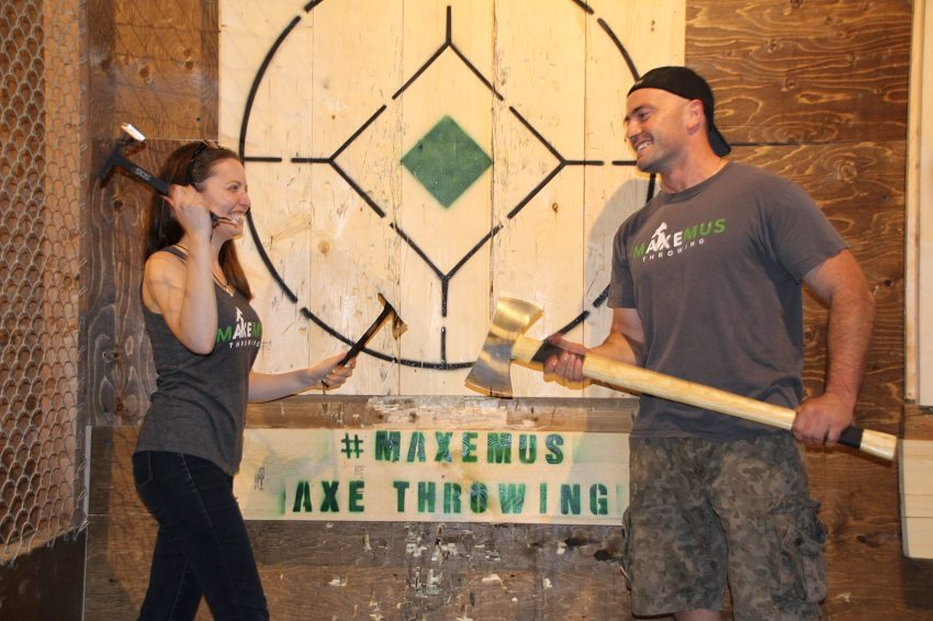Wield an axe without scaring anyone