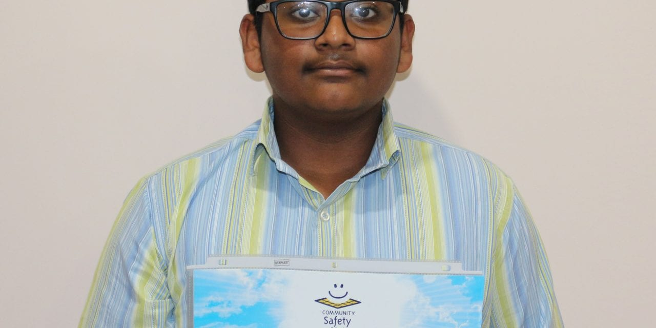 Markham student wins letter-writing contest