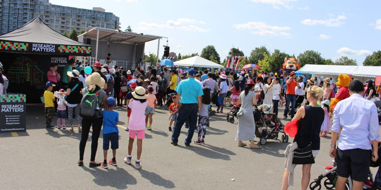 Crowds came out for 2017 Children's Festival