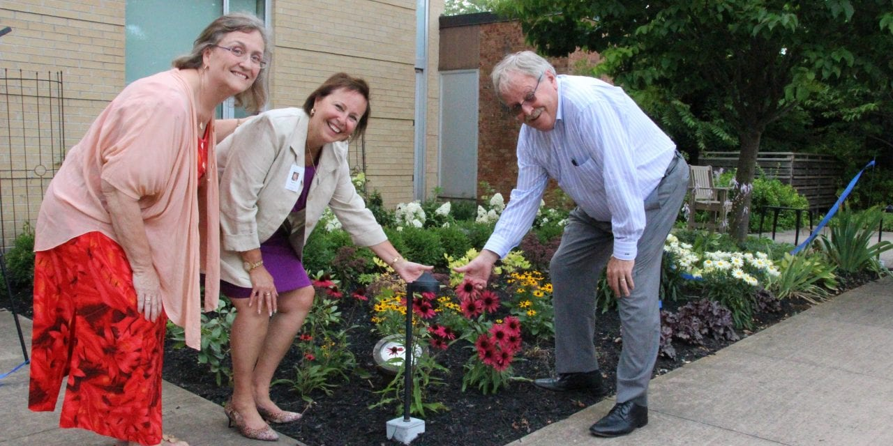 Union Villa gets new garden