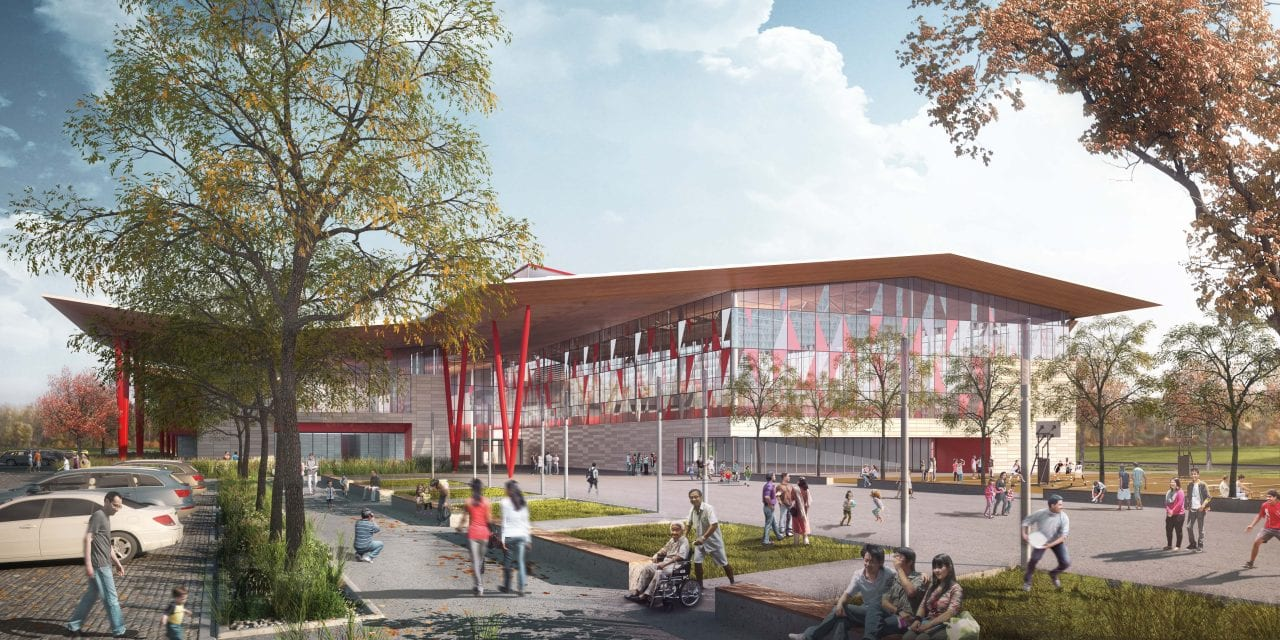 Modern community centre opens this fall