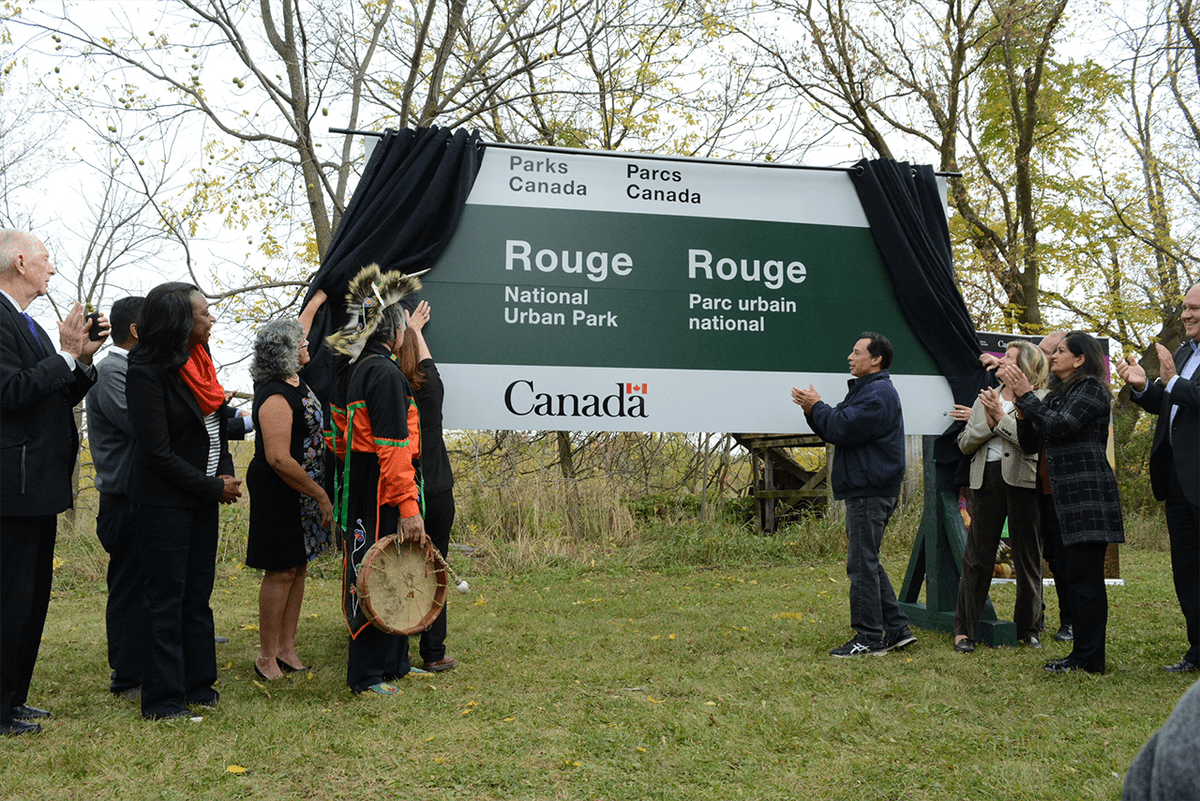 Rouge park closer to completion after transfer of land from Markham, province