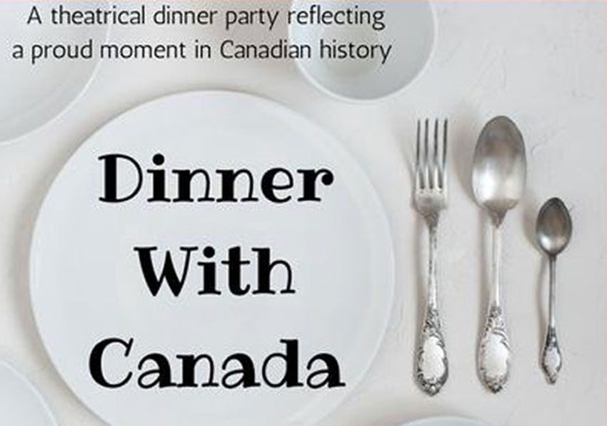 Meet a PM at theatrical supper party