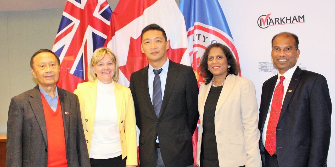 High tech partnership with southern Chinese hub in place