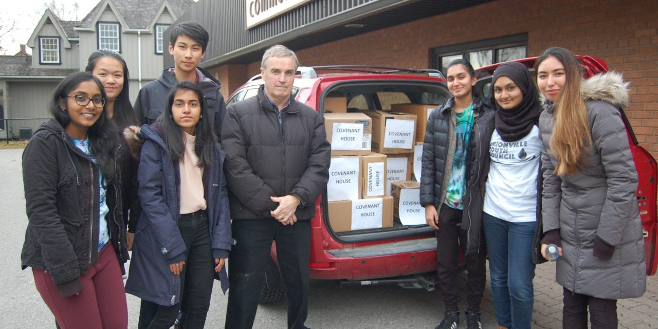Youth helping youth in annual Covenant House Christmas drive