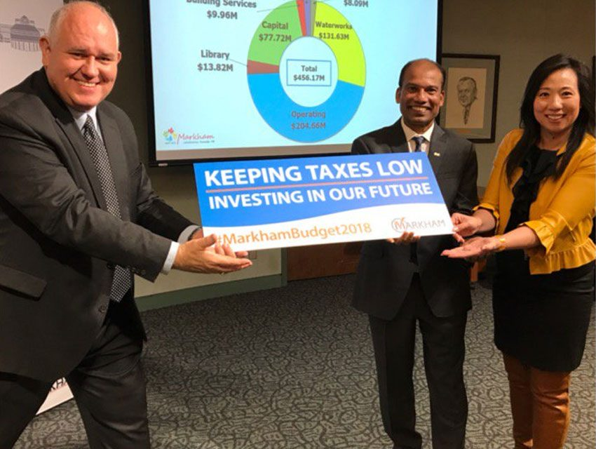 Markham 2018 budget approved