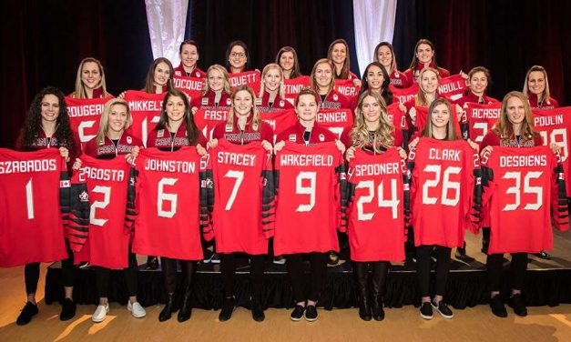 Markham Thunder players represent Canada at the Winter Games