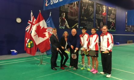 Markham to host World Junior Badminton Championships
