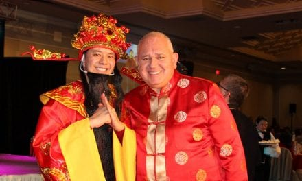 Annual Mayor's Chinese New Year dinner