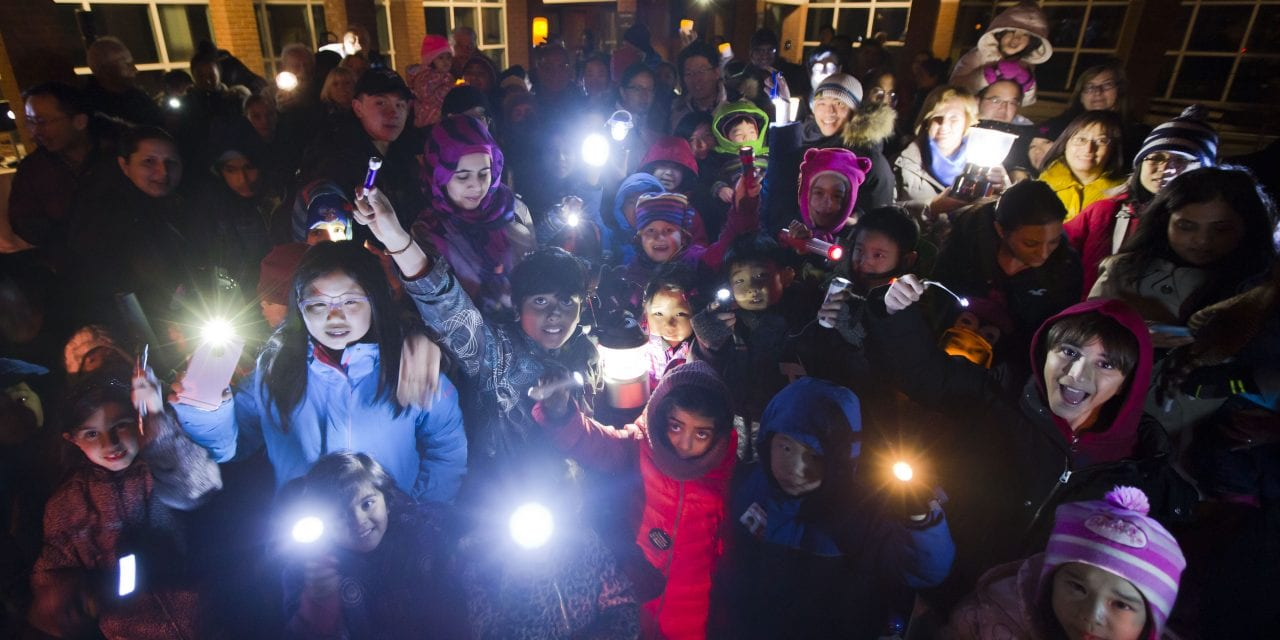All lights out at Markham Earth Hour event