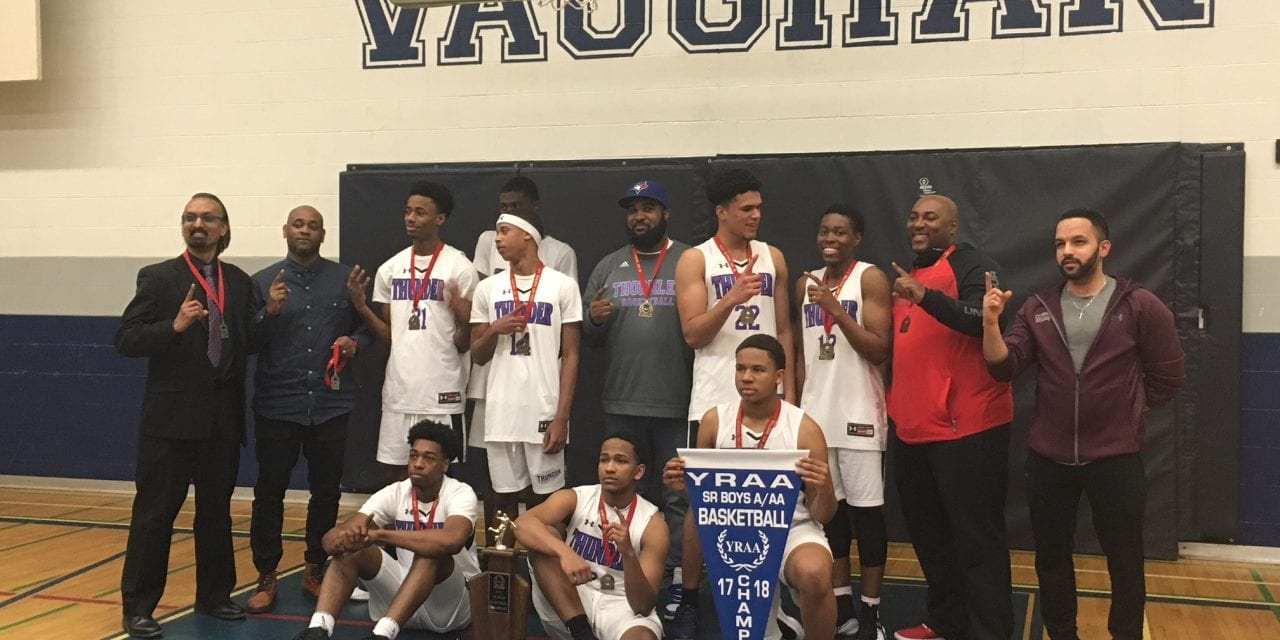 Thunder takes hoops title